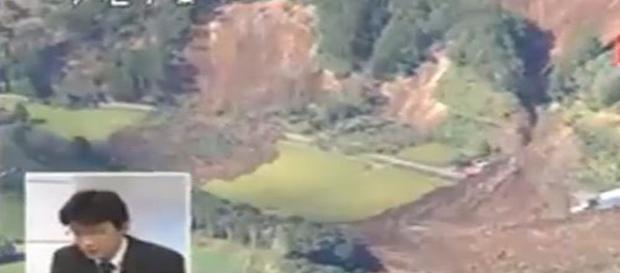Japan earth quake hits northern region Septber 6 - Image credit CSwxCenterandTHC   YouTube