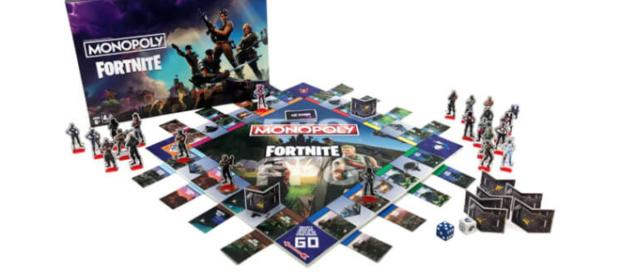 The 'Monopoly Fortnite' board game is now ready for preorder. - [Jelly Deals / YouTube screencap]