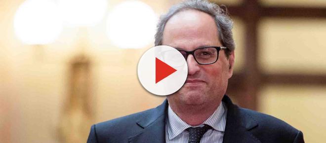 Quim Torra asegura que mantendrá su posición política en línea con Puigdemont