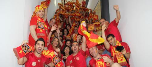 Los aficionados esperan con gran expectación el encuentro entre La Roja e Inglaterra