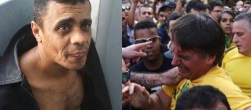 O acusado de esfaquear Bolsonaro.