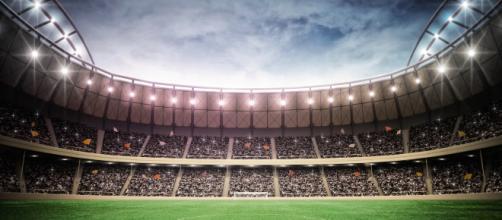 Poster stade championnat d'Europe de football - Décoration sportive - scenolia.com