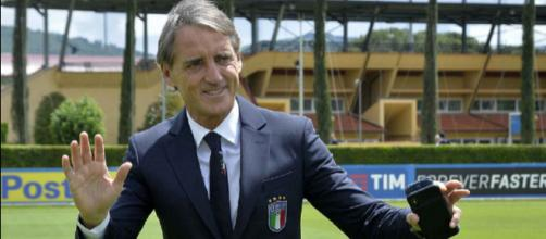 Roberto Mancini, prima partita ufficiale sulla panchina dell'Italia