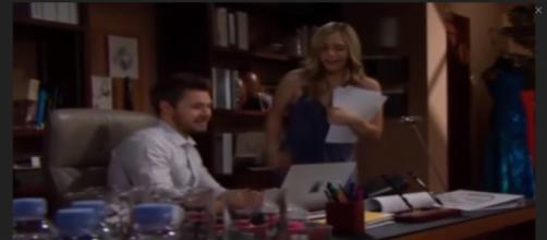 Steffy may try to break up Hope and Liam again. [Image Source: The Bold and the Beautiful - YouTube]