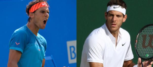 Rafael Nadal y Juan Martín del Potro esta noche medirán fuerzas