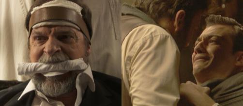 Il Segreto: Saul minaccia di morte Prudencio, Raimundo seviziato da Fulgencio