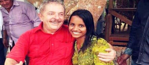 Lula e a ex-BBB, Gleici Damasceno