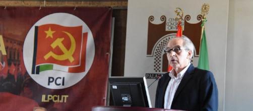Mauro Alboresi, segretario del PCI