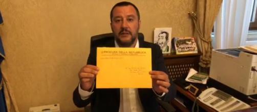 Salvini contro la magistratura