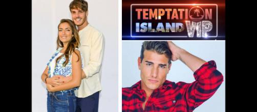 Temptation Island Vip: Nilufar e Giordano.