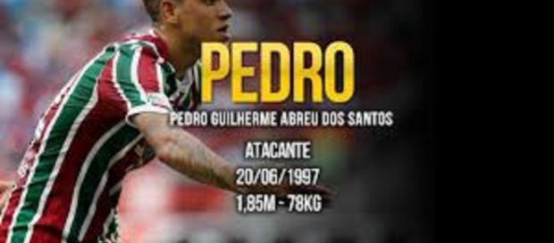 Delantero del Brasil Pedro Gulherme en los ojos de los clubes Europeos