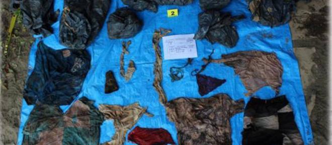 Encuentran 166 cráneos en fosas clandestinas de Veracruz