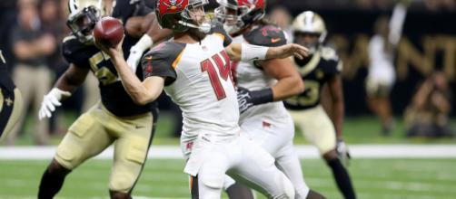 Fitzpatrick podría quitarle el puesto a Winston en Tampa Bay. NFL.com.