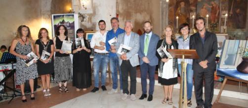 Giurati e organizzatori della sesta edizione del concorso Pietro Iadeluca&amici
