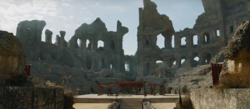 GoT leak claims Tyrion will be put on trial in the Dragonpit [image credit: TheCell8 - YouTube]