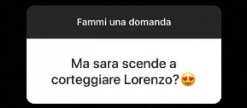 Sara Affi Fella non corteggerà Lorenzo Riccardi.