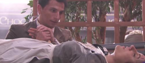 Spoiler, Una Vita: Antonito rivela il suo amore a Lolita dopo averla salvata dal terremoto