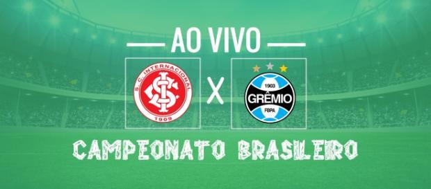 Campeonato Brasileiro: Inter x Grêmio ao vivo