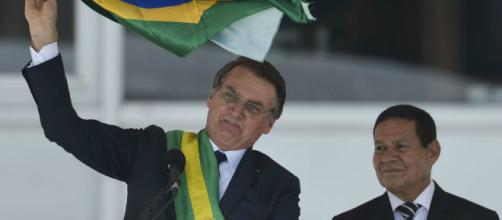 Bolsonaro toma posse em Brasília. (Marcello Camargo/Agência Brasil)