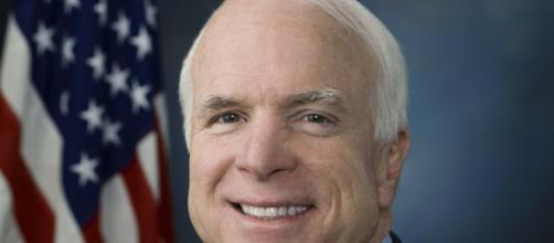 John McCain is one of many famous people that passed away in 2018. [image source: United States Congress- Wikipedia]