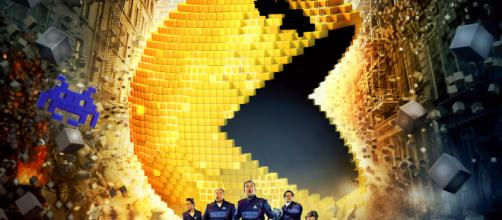 """MOMMY-MOVIE-REVIEW: """"Pixels"""" With My Kids - Julie Says So - juliesaysso.com"""