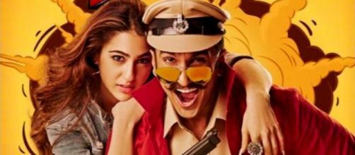 Ranveer Singh's 'Simmba' leaked ... (Image via Rohit Shetty/Twitter)