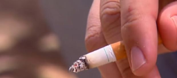 No more smoking on NYC streets. [Image source/CBS New York YouTube video]