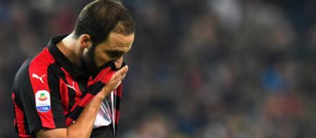 Higuain AC Milan 2018/2019 San Siro