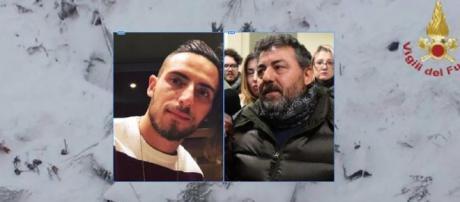 Tragedia di Rigopiano: papà multato per aver portato fiori al figlio
