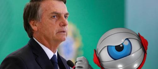 Apoio de participantes à Bolsonaro gera revolta nas redes sociais. (Foto Reprodução)
