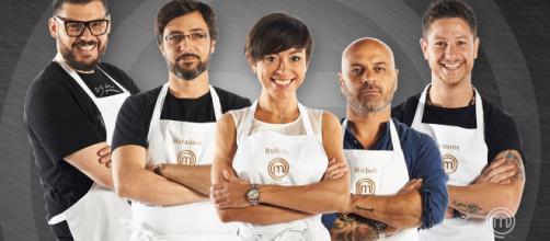 I cinque finalisti di Masterchef All Stars