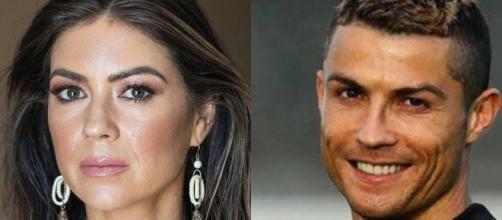 Kathryn Mayorga e Cristiano Ronaldo (Imagem via Youtube)