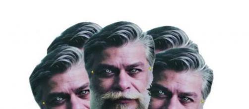 Máscaras com a face do ator Fábio Assunção (Divulgação/Facebook)