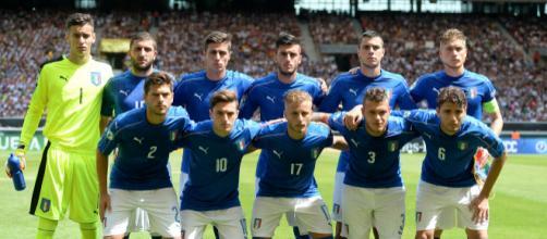 Italia under 19: mercoledì 16 gli azzurrini andranno in campo a Caserta contro la Spagna