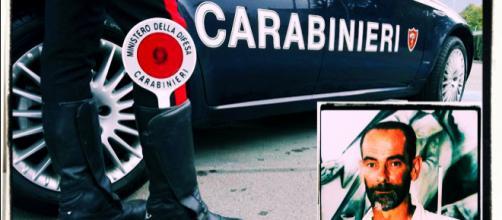 Roberto Borrielli, nella foto a destra, era stato trovato privo di vita dai Carabinieri.