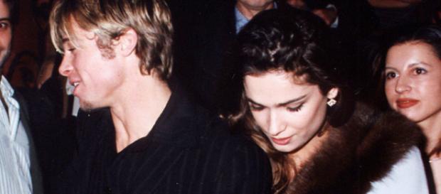 Fotografía muestra que Brad Pitt disfrutó de su estancia en Madrid con Mar Saura