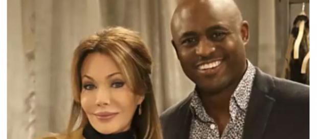 Hunter Tylo defends Wayne Brady's B&B character Dr. Reese. [Image Source: Gossip Reporter-YouTube]
