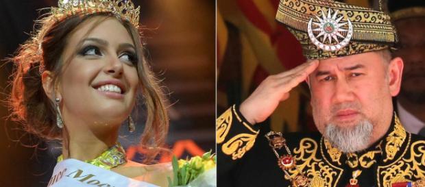 La historia de amor con una Miss Rusia por la que el sultán dejó su cargo