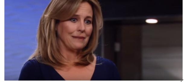 Laura will have her hands full s Port Charles new mayor. [Image Source: General Hospital-YouTube]
