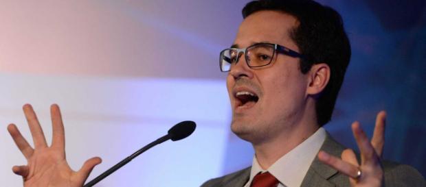 Procurador Deltan Dallagnol se manifestou contra decisão do presidente do STF sobre votação no Senado. (Foto: Fernando Frazão/Agência Brasil)