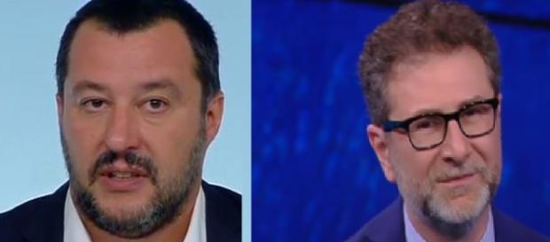 Salvini fa il parallelismo con Fazio riguardo ai compensi