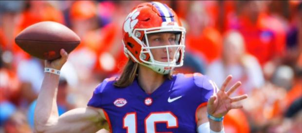 Trevor Lawrence could opt for the XFL in 2020, if eligibility rules stay different from NFL's. - [ACC Network / YouTube screencap]