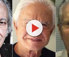 Erasmo Carlos, Cid Moreira e Carlos Alberto são maridos de esposas mais jovens. (Foto Reprodução)
