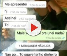 Policia Civil tem acesso a print's de conversas das agressoras (Foto: Reprodução/TV Morena)
