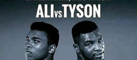 Ali vs Tyson is inspiring for a fantasy boxing match. [Image source: Sleeperin/Youtube]