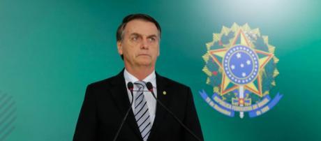 Bolsonaro na cerimônia de posse (Arquivo Blasting News)