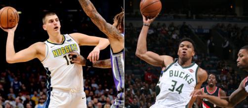 Jokic y Giannis son las piezas centrales Nuggets y Bucks. www.piratasdelbasket.net