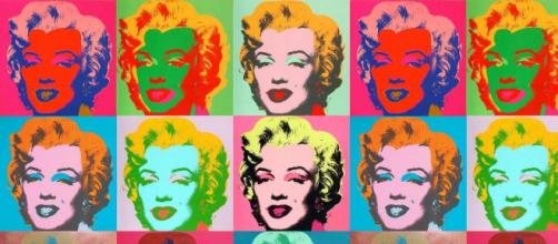 Marilyn Monroe ritratta da Andy Warhol