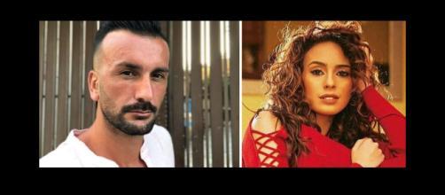 Uomini e Donne: Sara Affi Fella e Nicola Panico.