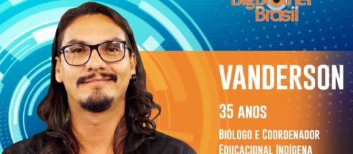 Vanderson pode ser expulso (Reprodução: TV Globo)